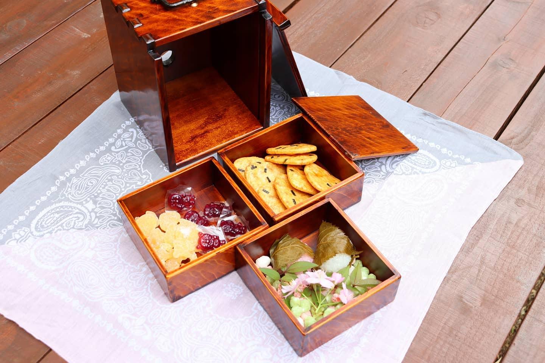 里山ピクニック 遊山箱でおでかけ♪